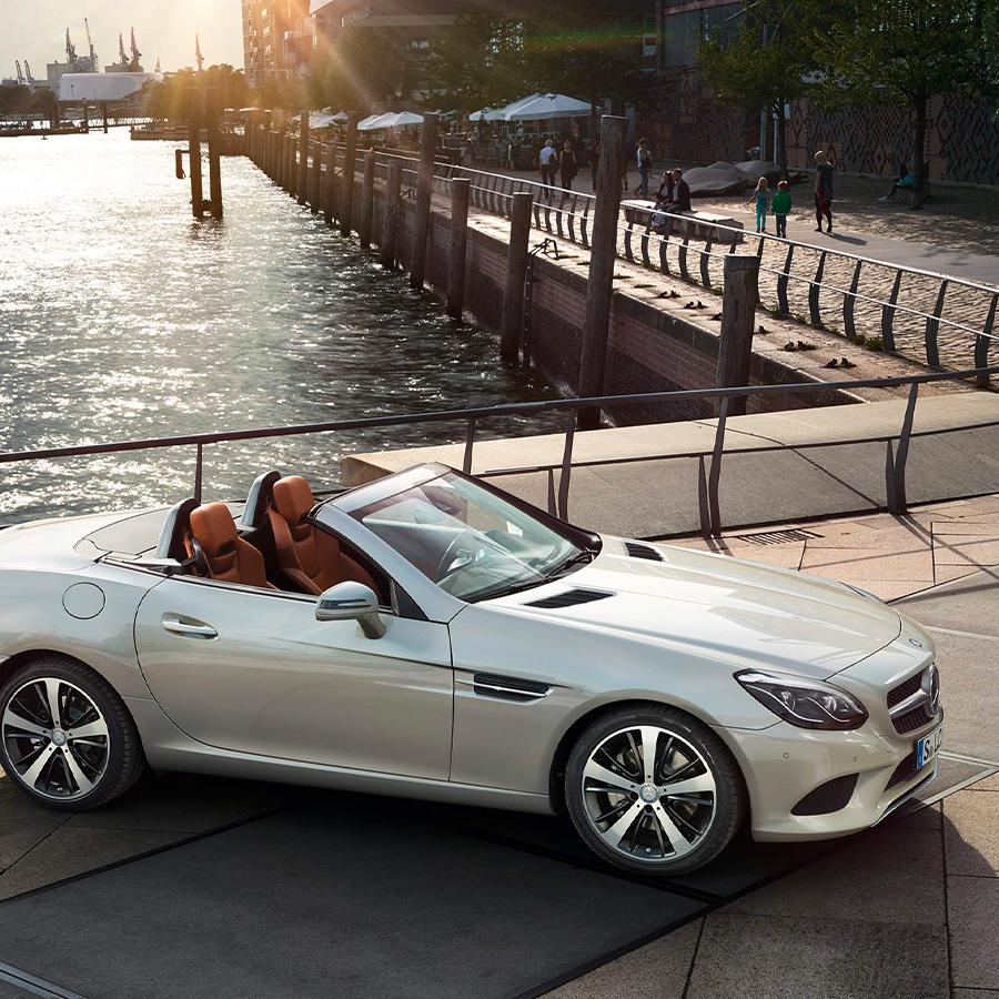 Mercedes-Benz SLC Roadster - Diseño
