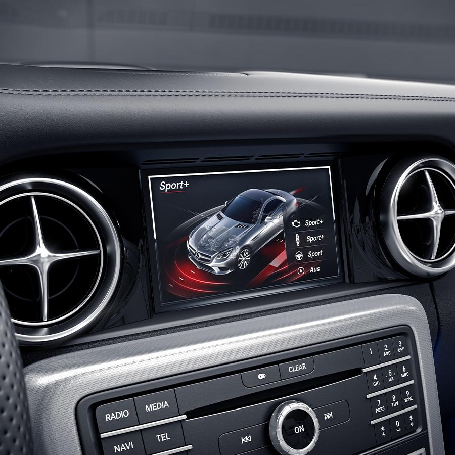 Mercedes-Benz SLC Roadster - Confort