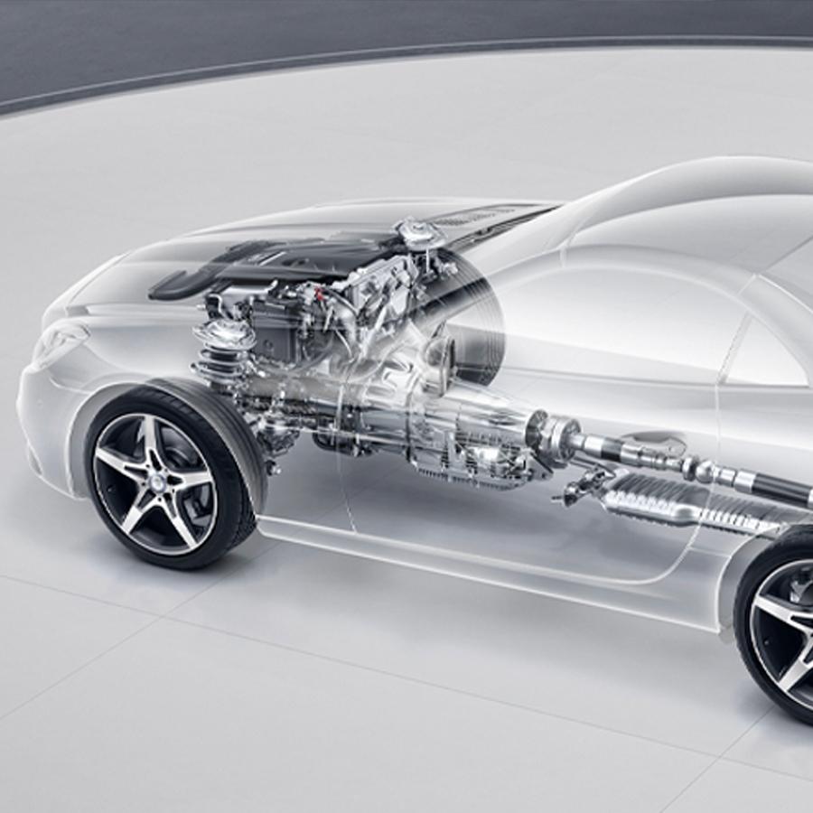 Mercedes-Benz SLC Roadster - Seguridad