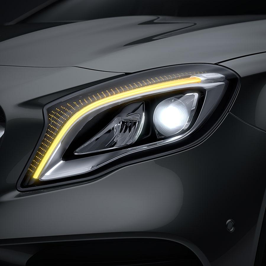 Mercedes-Benz GLA SUV - Seguridad