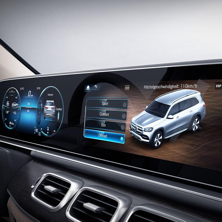 Mercedes-Benz GLS - Especificaciones