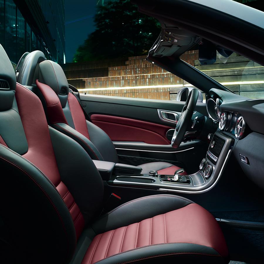 Mercedes-Benz SLC Roadster - Especificaciones