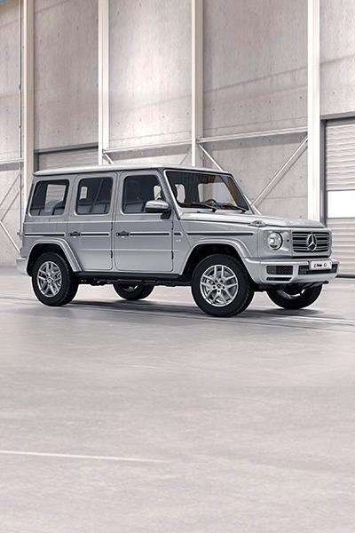 Mercedes-Benz Clase G - Blanco