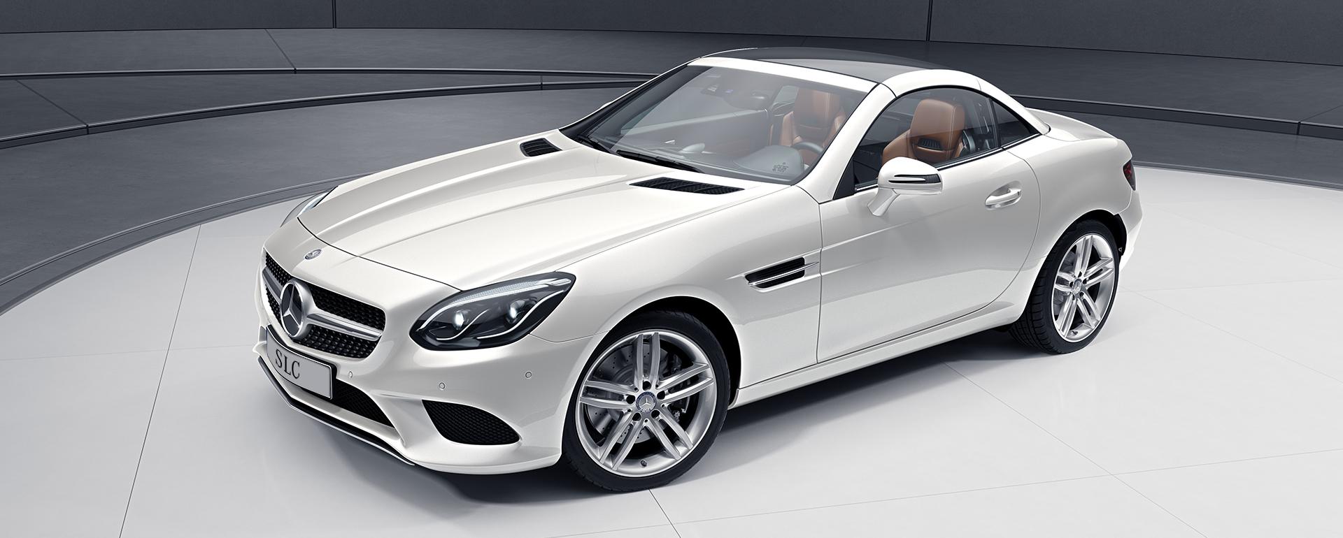 Mercedes-Benz SLC Roadster - Blanco