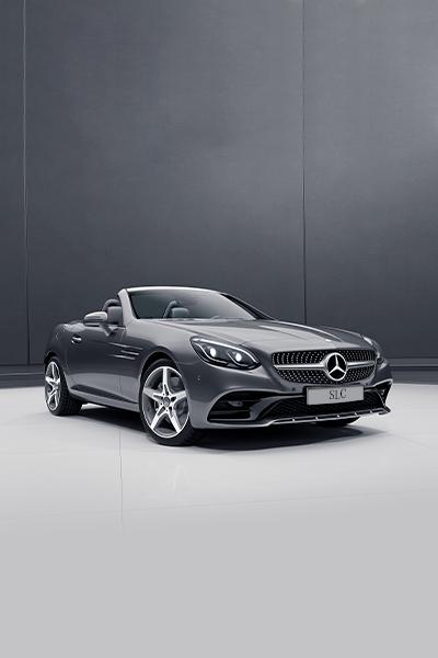 Mercedes-Benz SLC Roadster - Gris