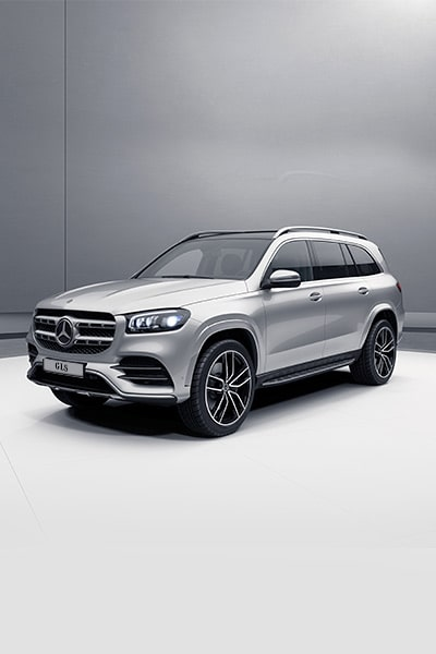 Mercedes-Benz GLS - Plata